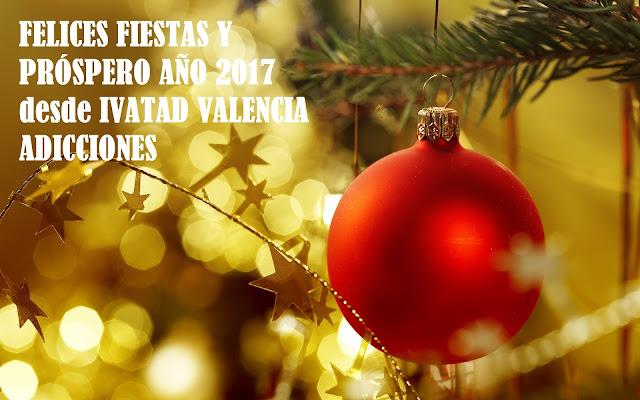 FELIZ NAVIDAD 2016 VALENCIA ADICCIONES