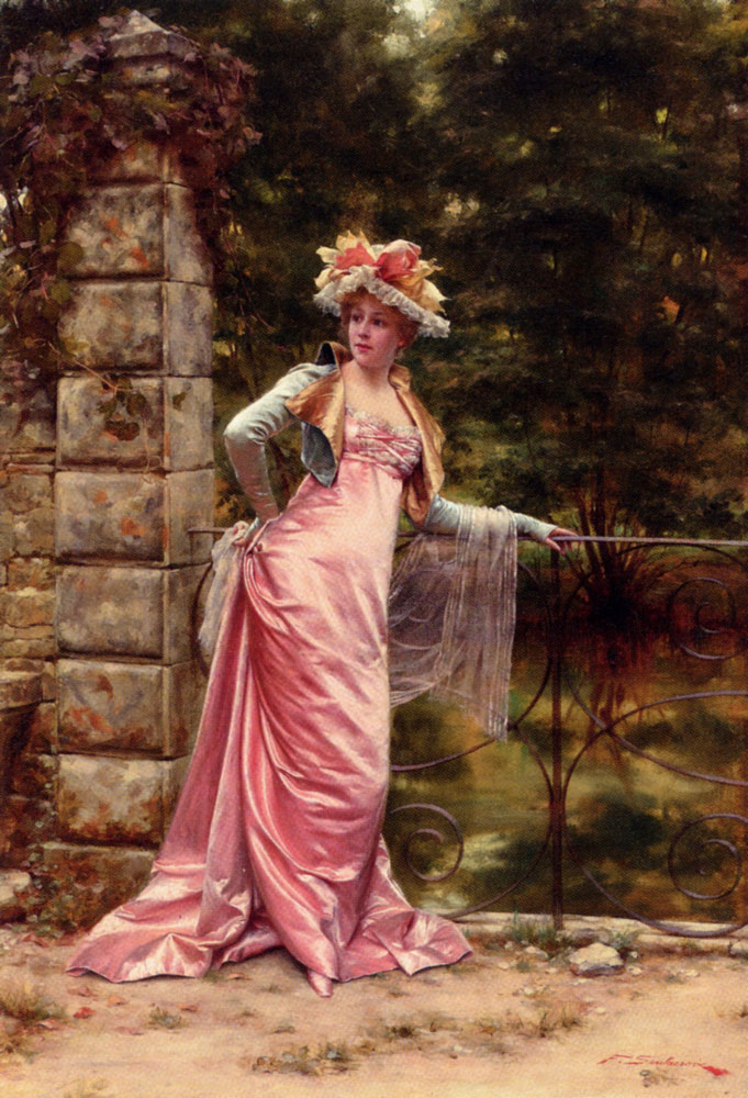 "French-Italian Painter ""Charles Joseph Frederick Soulacroix"""