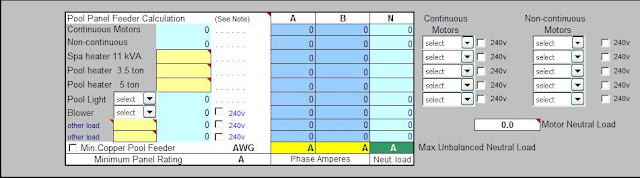 Residential Load Calculations Spreadsheet – Part Two