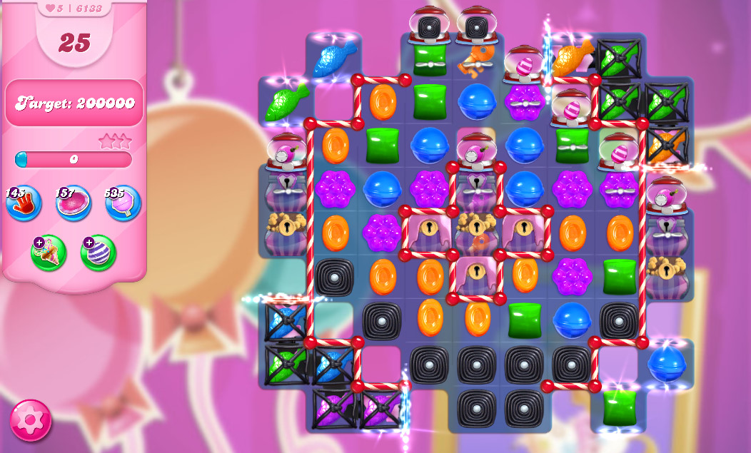 Candy Crush Saga level 6133