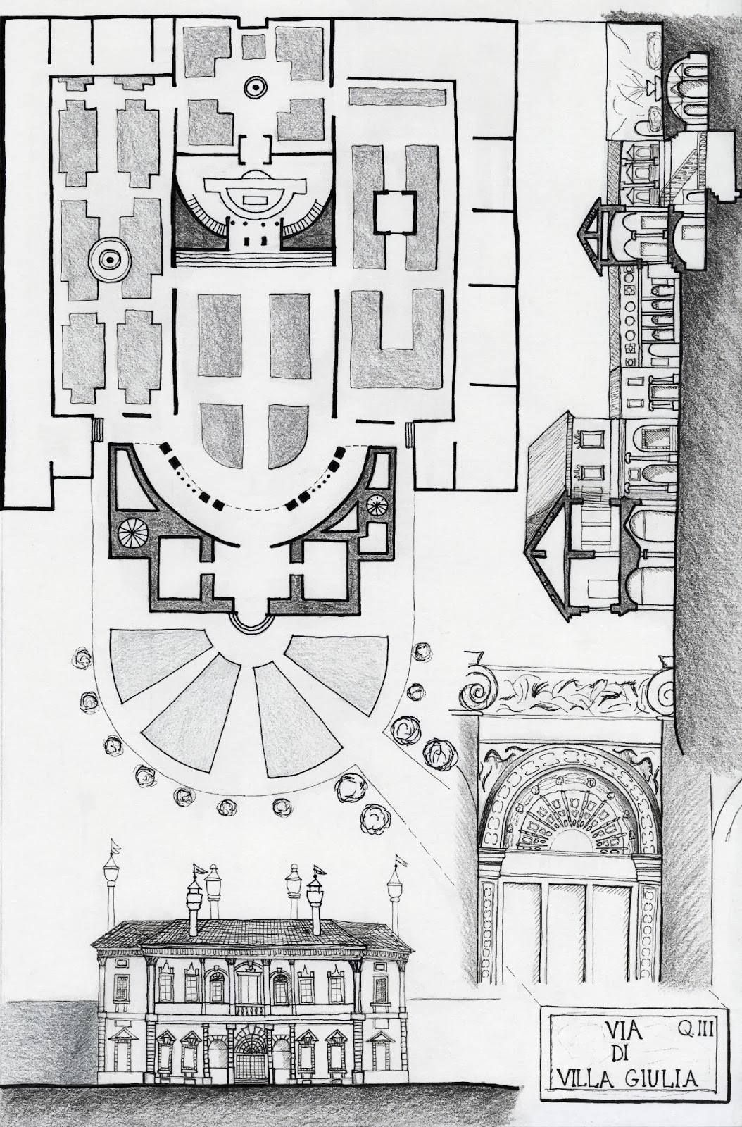 Arteacedo Plantas Y Dibujos De Edificios Del Cinquecento