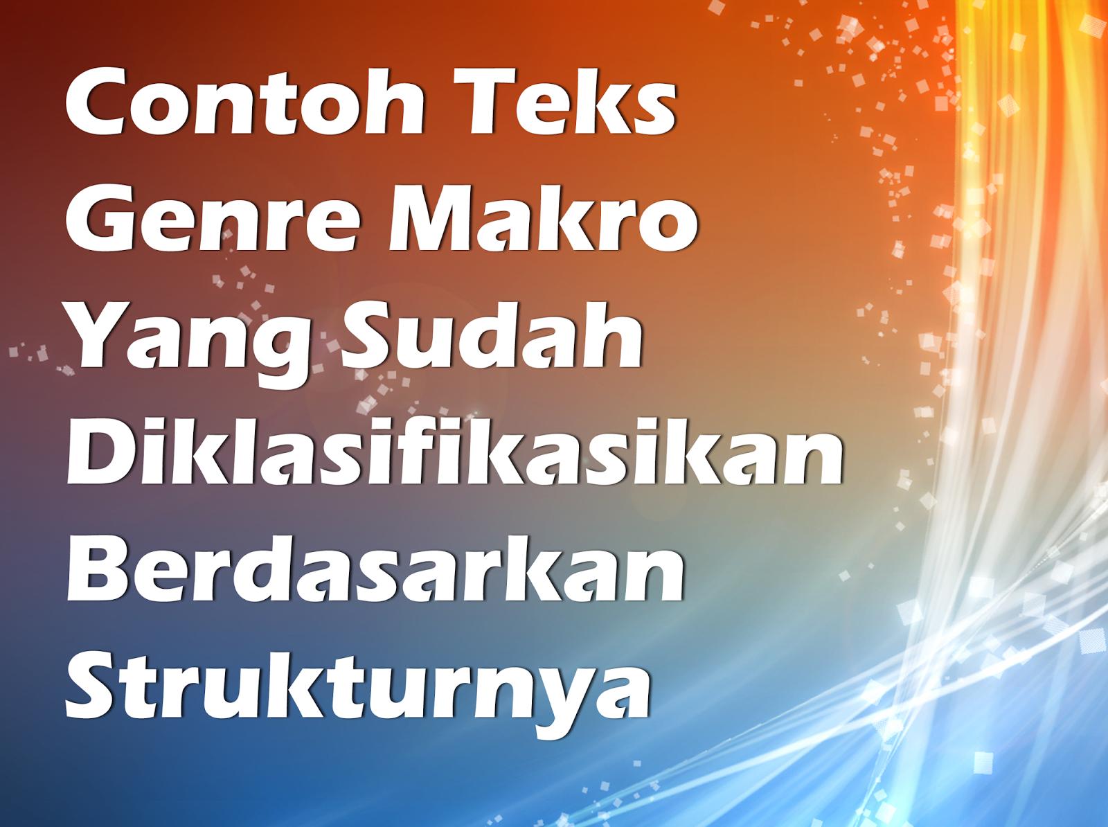 Contoh Teks Genre Makro Contoh 0917 – Cuitan Dokter