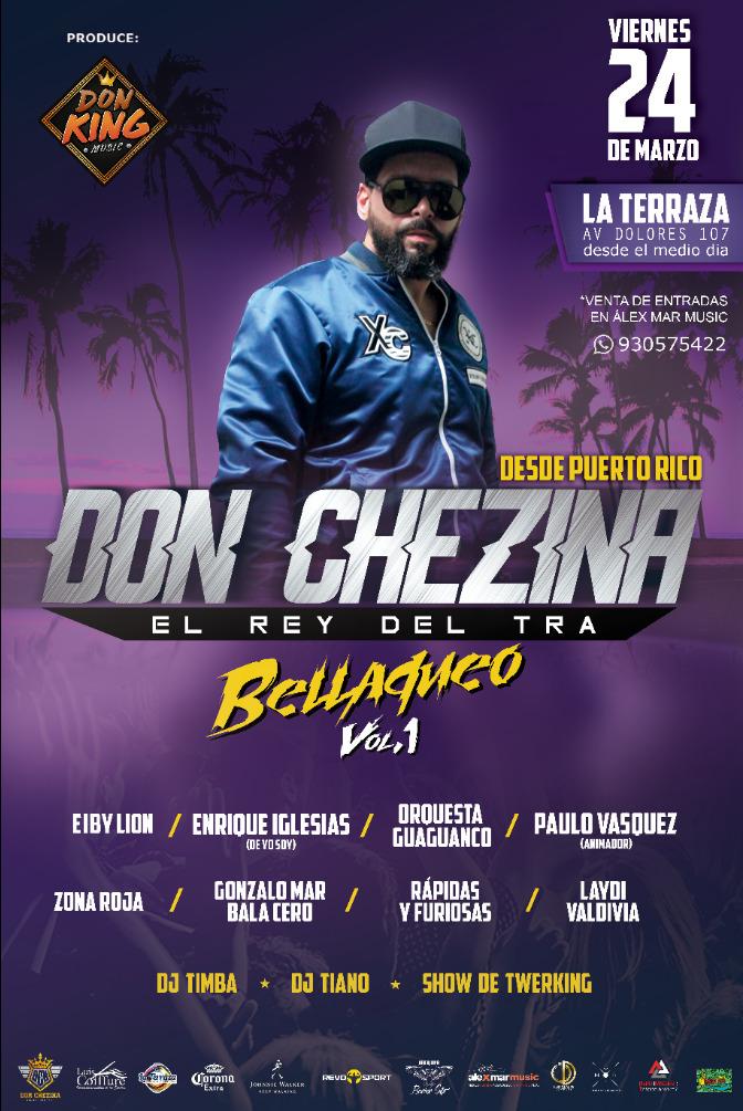 Don Chezina en Arequipa - 24 de marzo