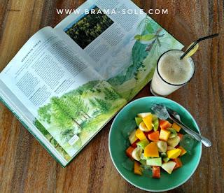 salad buah basilia