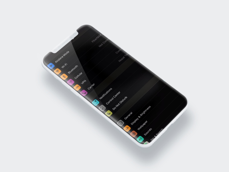 Vic Myster How To Enable Dark Mode On Iphone X In Ios 11