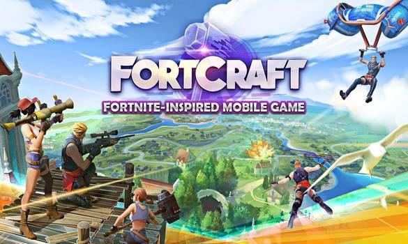 حمل الان لعبة Fortcraft شبيهة لعبة Fortnite لهواتف الاندرويد