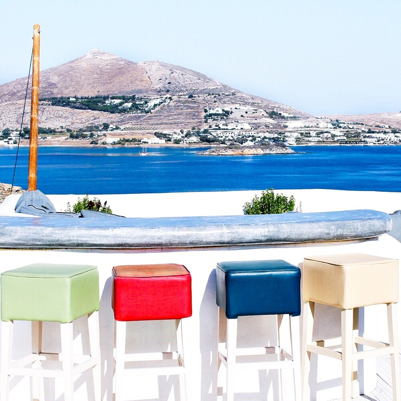 colorful hotel designs, best Paros island hotels