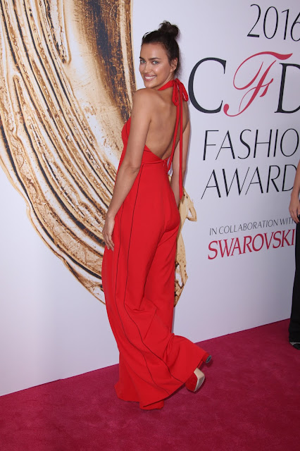 Actress, Model, @ Irina Shayk - CFDA Fashion Awards in NYC