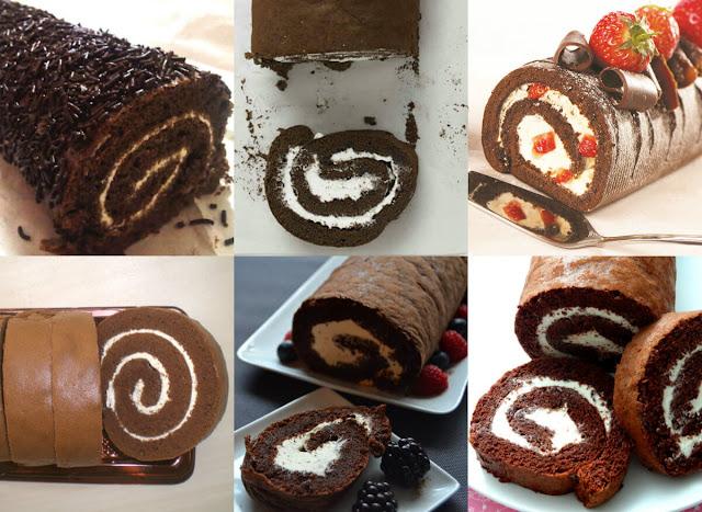أحلى وأسهل طريقة لعمل سويسرول الشوكولاتة بسهولة وفي المنزل!