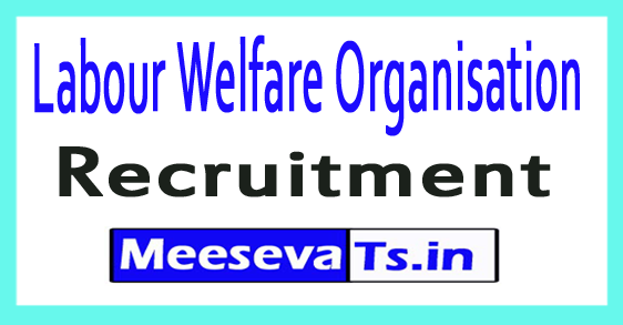Labour Welfare Organisation Recruitment