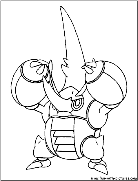 Pokemon Pokemon Coloring Pages