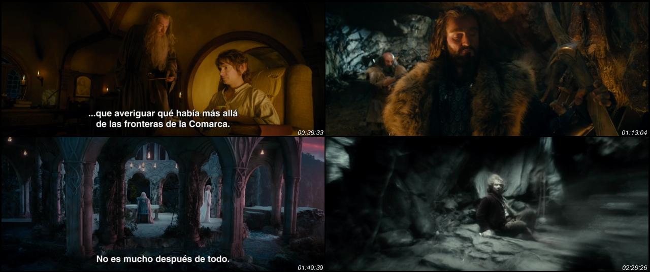 Hobbit An Unexpected Journey 2012 Extended 1080p Brrip – Fondos de
