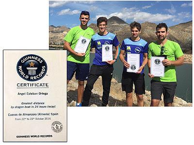Piragüismo Aranjuez - Récord Guinness