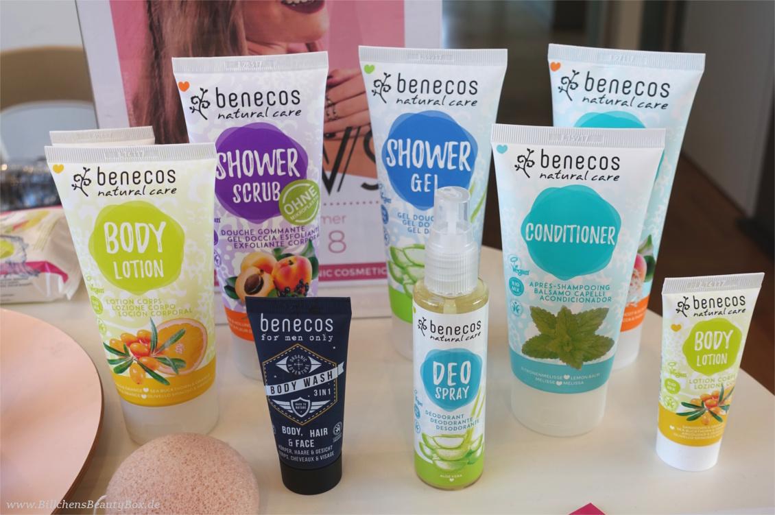 "beautypress ""Green cosmetics"" Naturkosmetik Bloggerevent - benecos Naturkosmetik Körperpflege"