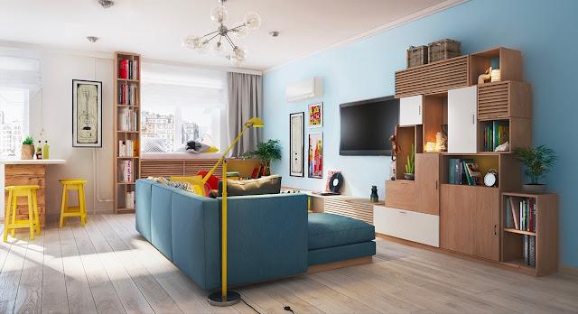 Denah Desain Interior Rumah Kecil