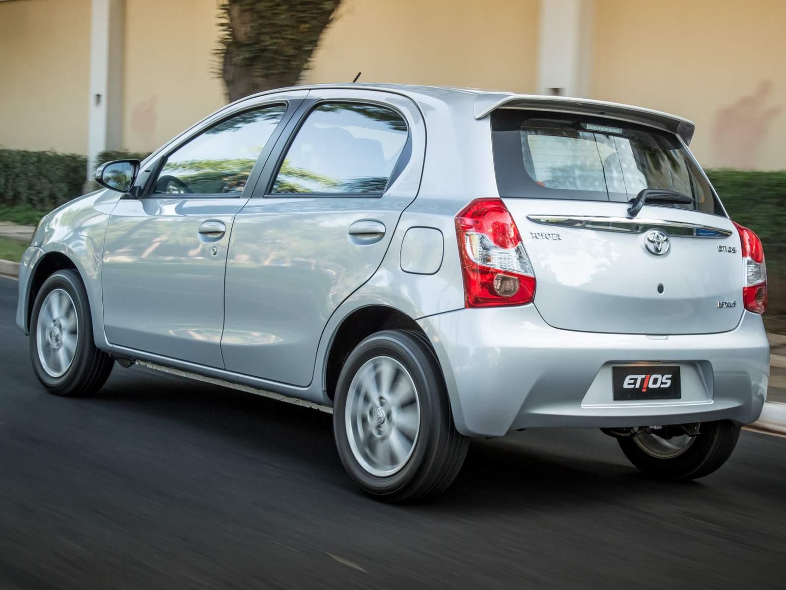 Toyota Etios automático é a melhor opção até R$ 50 mil ...