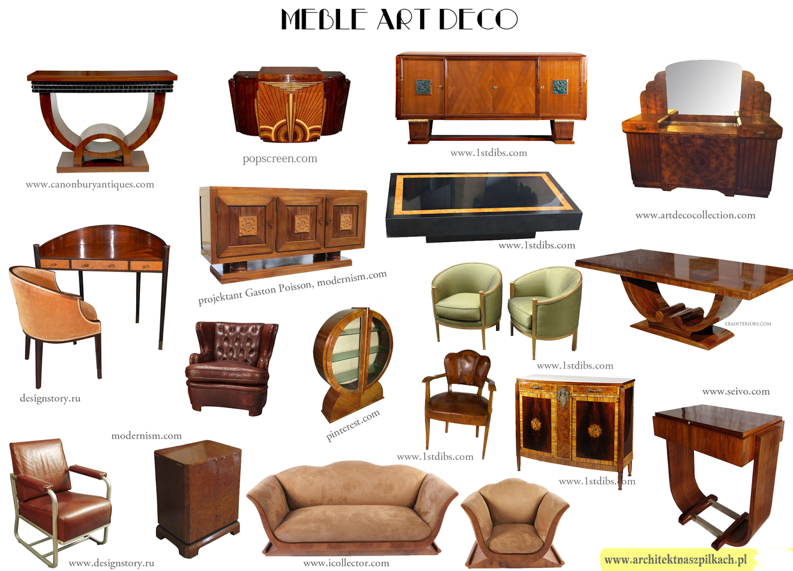 little miss architect interior design and architecture blog art deco beautiful furniture. Black Bedroom Furniture Sets. Home Design Ideas