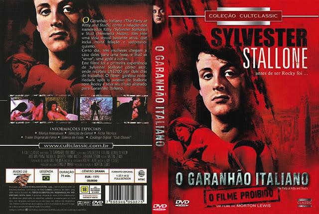 Capa DVD O Garanhão Italiano
