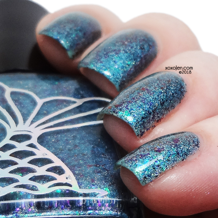 xoxoJen's swatch of Siren of The Sea Vinyls Pave Festivale