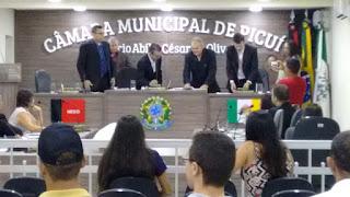 Câmara Municipal de Picuí aprova veto e autoriza novo piso do magistério