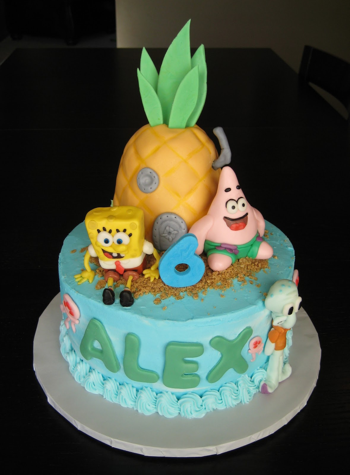 Spongebob Cake Decorations Uk
