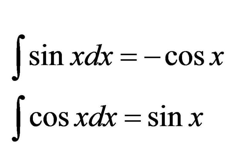 Rumus Dan Contoh Soal Integral Tak Tentu Fungsi Trigonometri