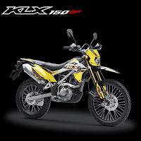 Kredit Motor Kawasaki KLX 150BF SE Yellow Murah