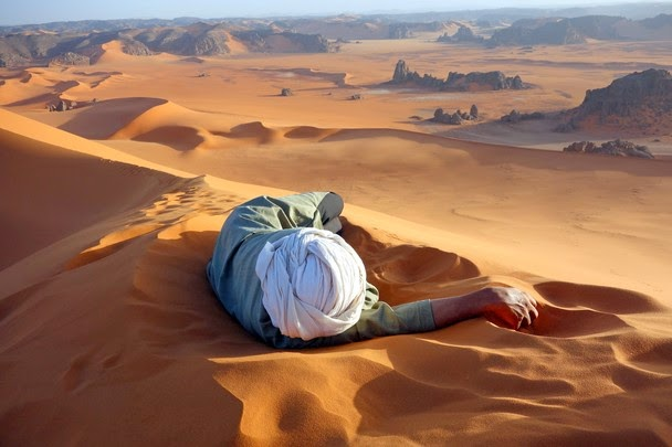 National Geographic Traveler Photo Contest 2014, A well earned rest in Sahara