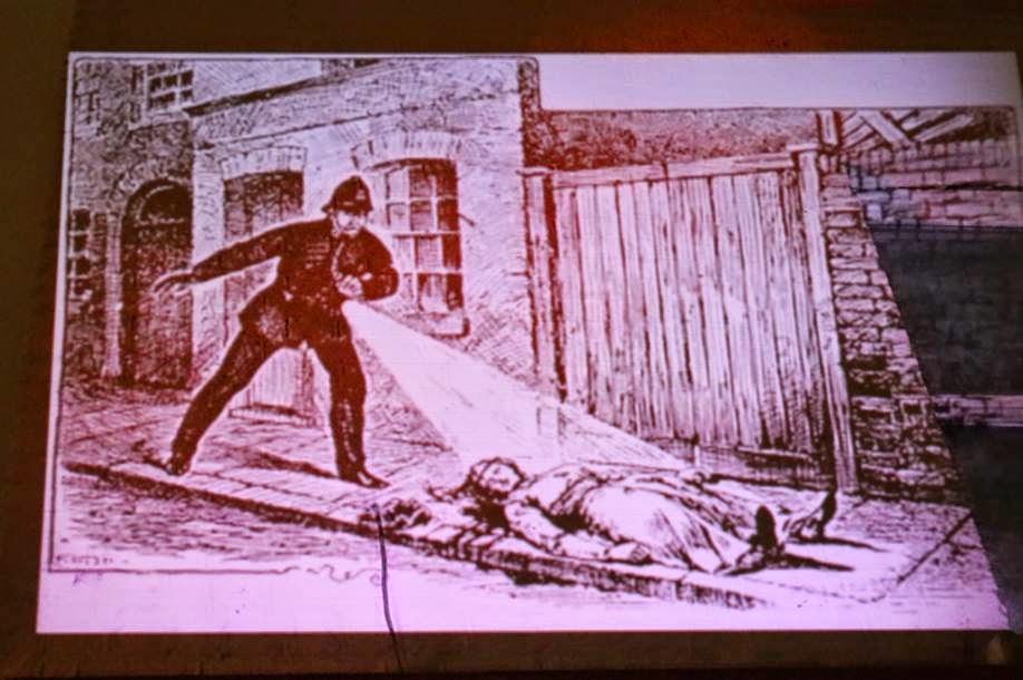 jack the ripper victim drawing