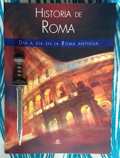Portada del libro Historia de Roma, de José Nieto