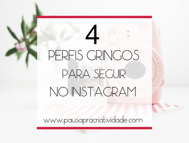 Instagrams gringos para seguir