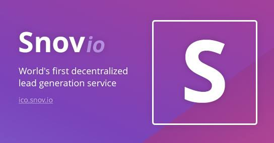 Snovio - The lead generation service is decentralized