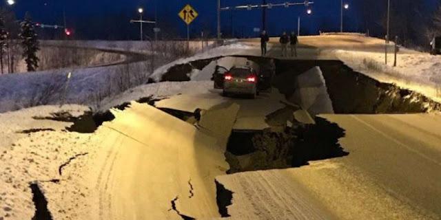 Απίστευτος σεισμός 7 Ρίχτερ στην Αλάσκα (βίντεο)