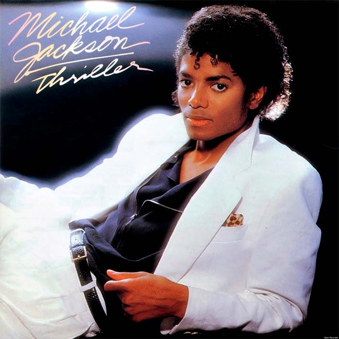 "Cover del álbum ""Thriller"" de Michael Jackson"