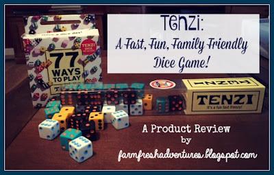 TENZI: A dice game that is fast and fun for the whole family (Product Review)
