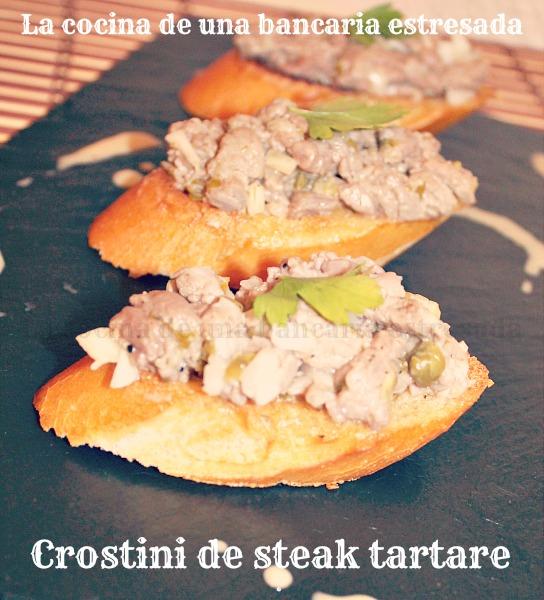 Receta de steak tartar paso a paso