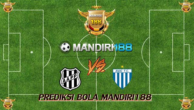 AGEN BOLA - Prediksi Ponte Preta vs Avai SC 23 Oktober 2017