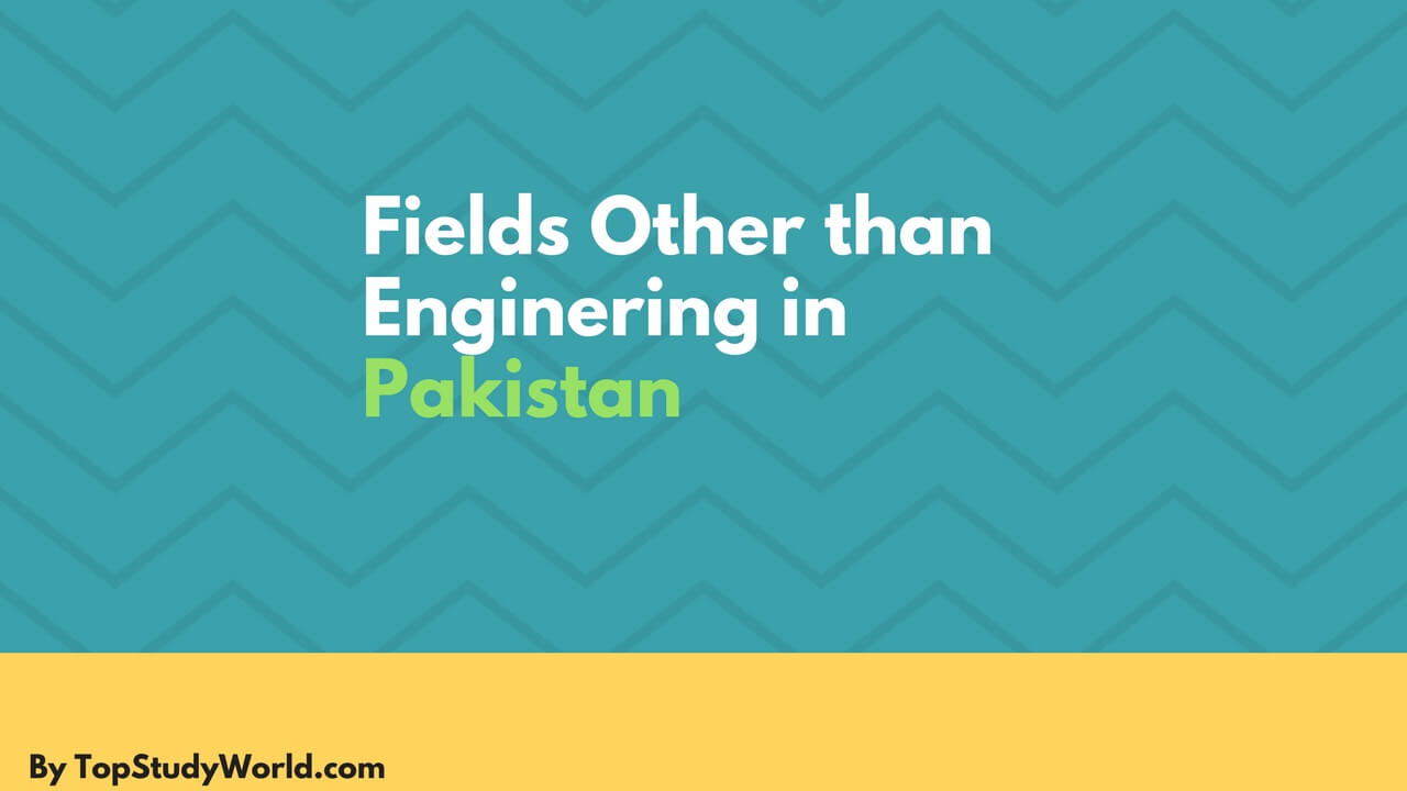 Top 7 Fields Other Than Engineering in Pakistan with Scope