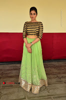 Actress Regina Candra Latest Pos in Green Long Skirt at Nakshatram Movie Teaser Launch  0089.JPG