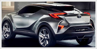 2016 Toyota C-HR Silver Concept II