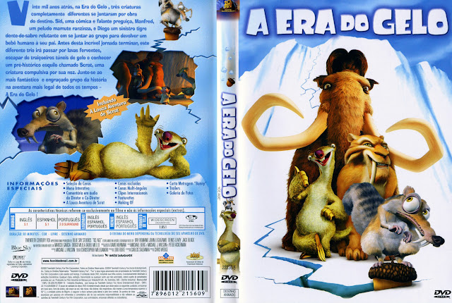 Capa DVD A ERA DO GELO