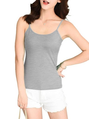 7cecc108ed6e2 20 Best Camisoles With Built in Padded Bra