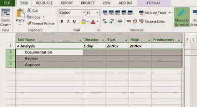 MS Project Plan