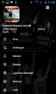 BBM MOD Outsider and The Angle APK v3.0.1.25 terbaru