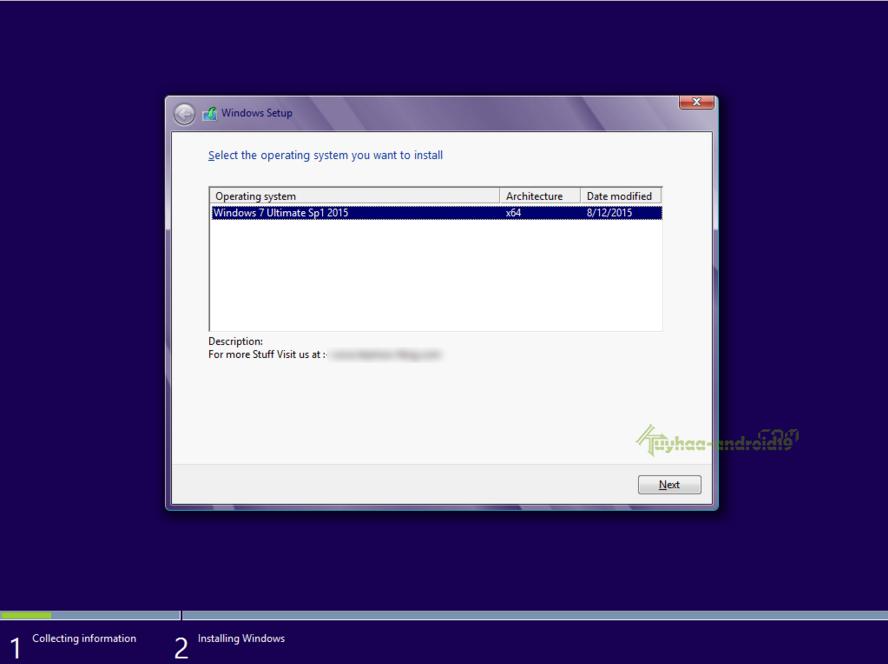 Windows 7 SP1 Agustus 2015