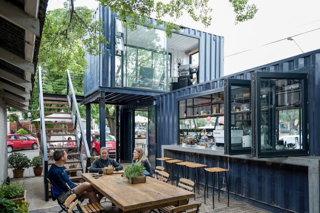 Container Cafe Design-Container Coffee Shop