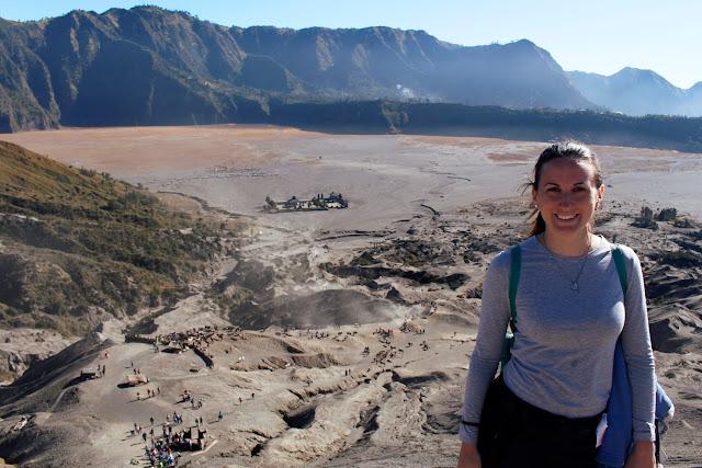Vistas desde el Monte Bromo
