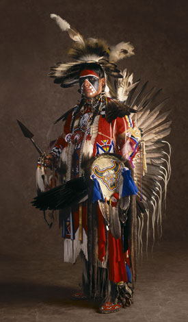 White Wolf  Native American Powwow Tradition Celebrated