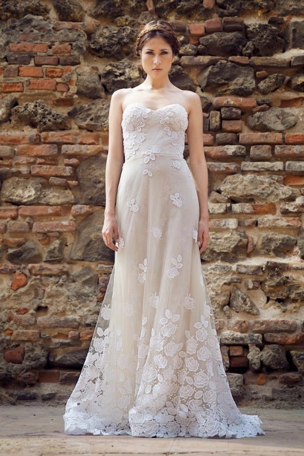 Vestidos de novia sencillos ¡40 INCREÍBLES ALTERNATIVAS!   Moda y ...