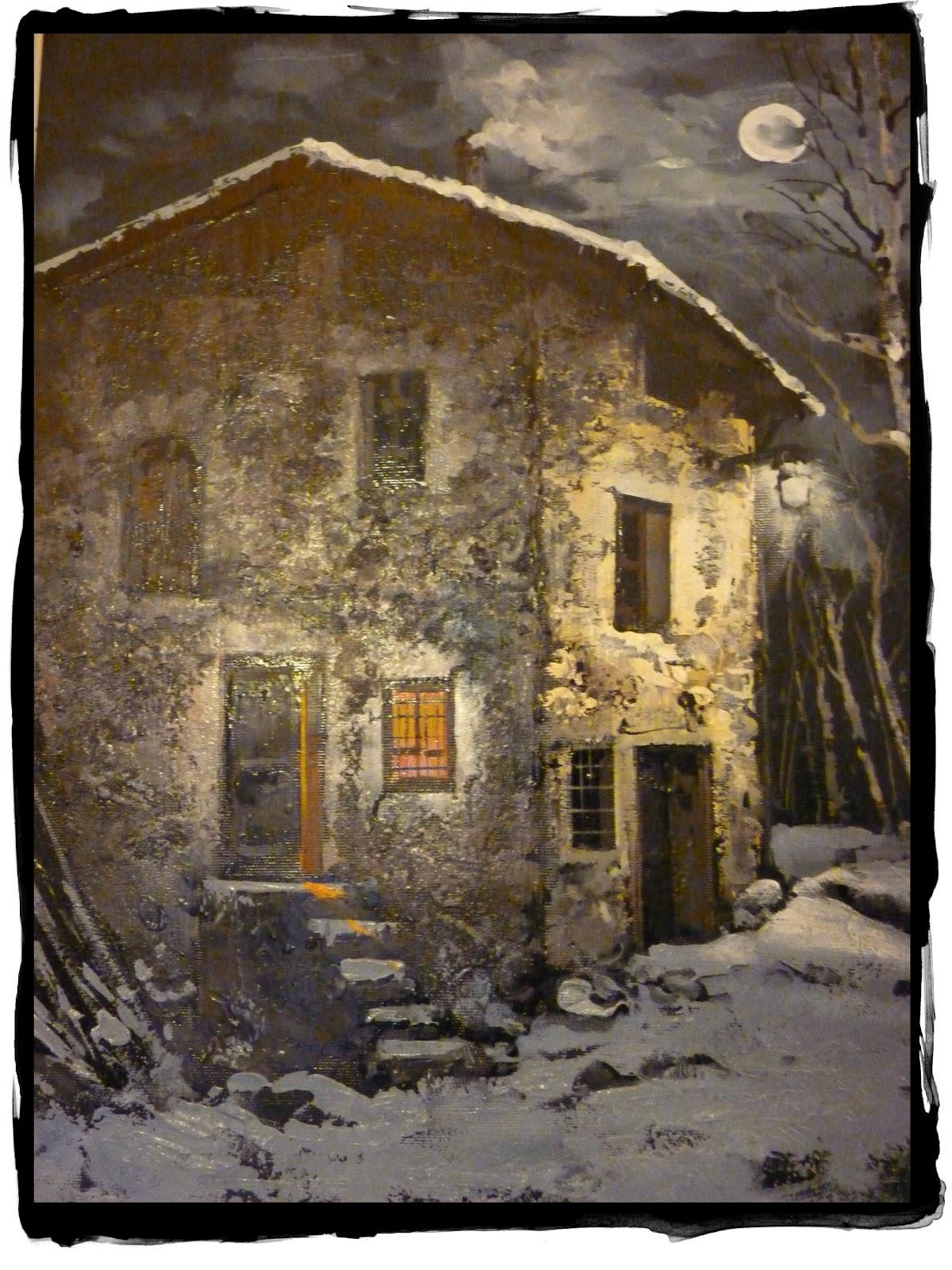 Vita magica di una famiglia alpina case di sassi for Immagini interni case di campagna